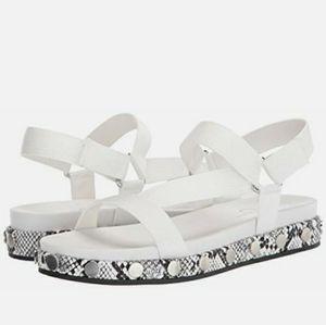 Perrie Jessica Simpson webbing stud sandals shoes